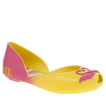 Zaxy Yellow Zizou Ballerina Girls Junior