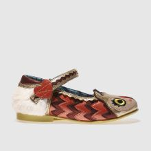 Irregular Choice Pink & Gold Mini Harold Girls Junior