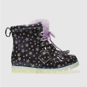 Irregular Choice Navy Baby Step Mama Girls Junior