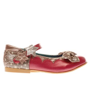 Irregular Choice Pink Startastic Girls Junior