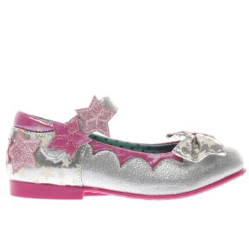 Irregular Choice Silver Startastic Girls Junior