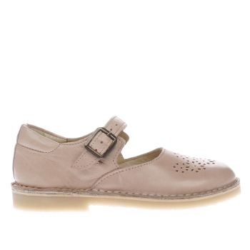 Young Soles Pale Pink Delilah Girls Junior