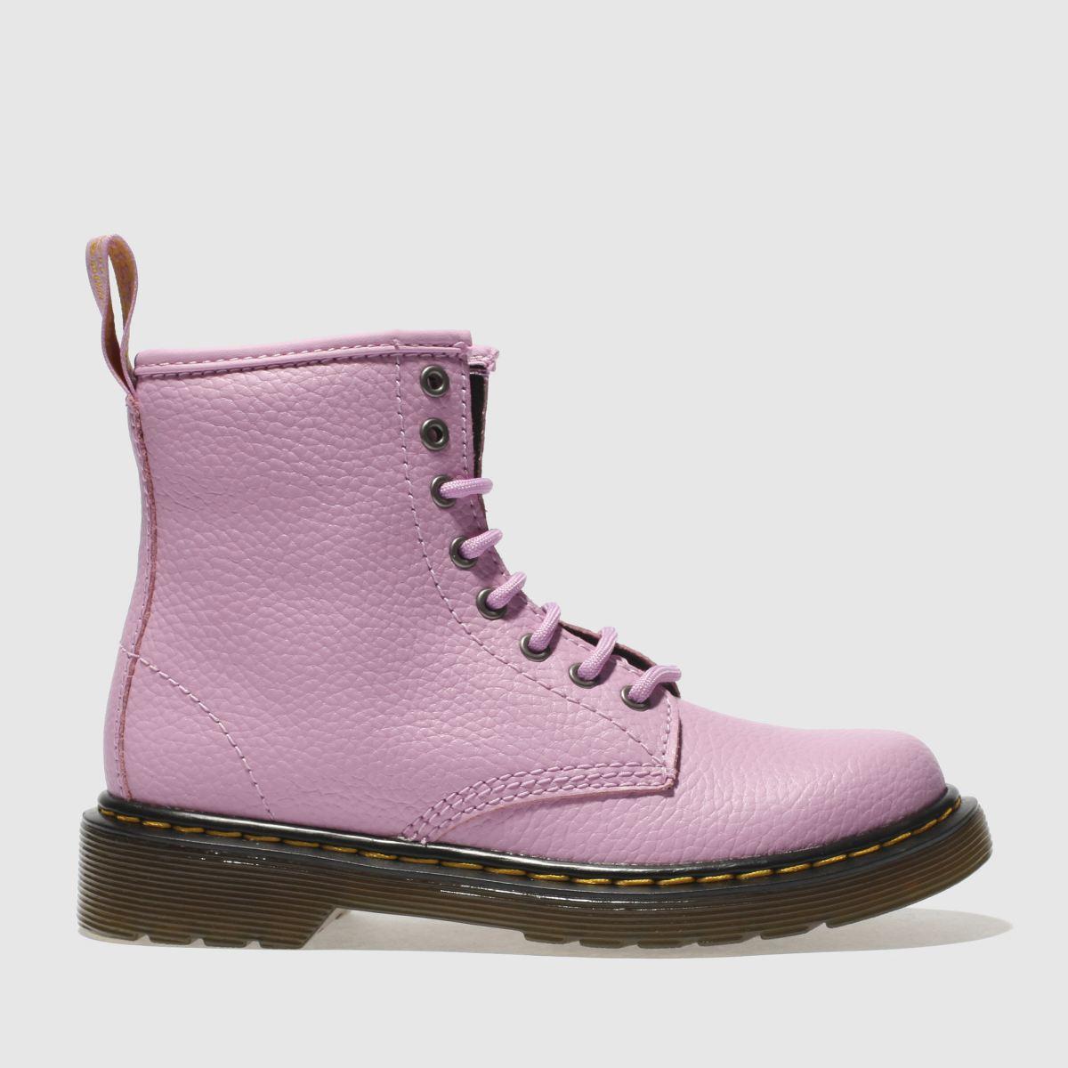 Dr Martens Pink Delaney Lace Boot Girls Junior Boots