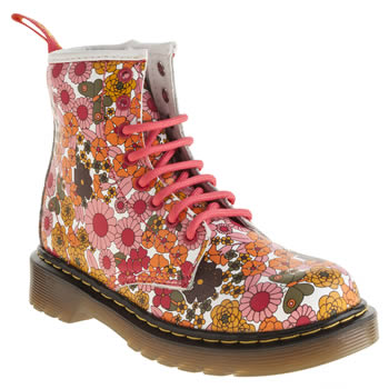 Dr Martens Multi Delaney Lace Girls Junior