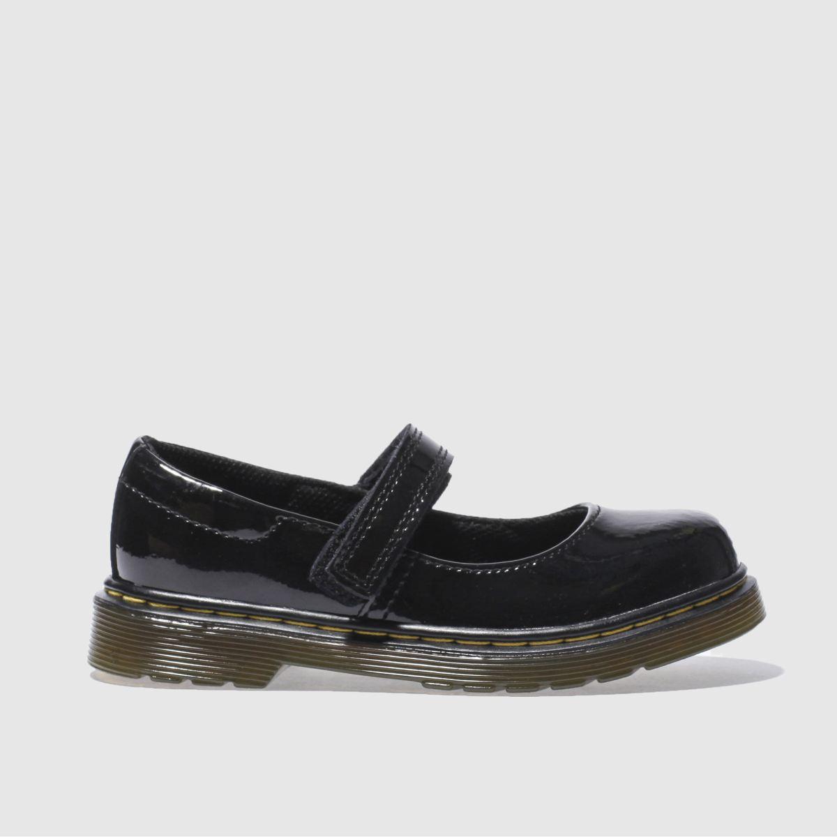 Dr Martens Black Maccy Girls Junior Boots