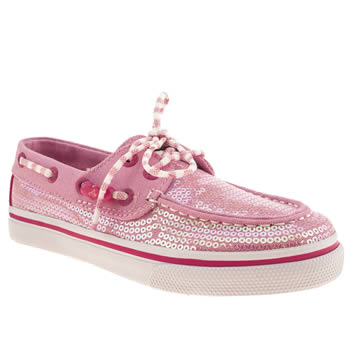 Sperry Pink Bahama Girls Junior