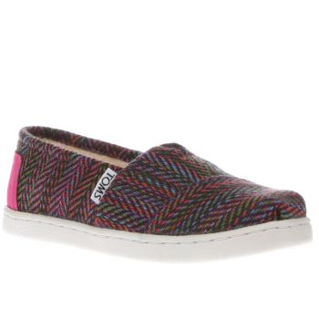 Toms Multi Seasonal Classic Girls Junior