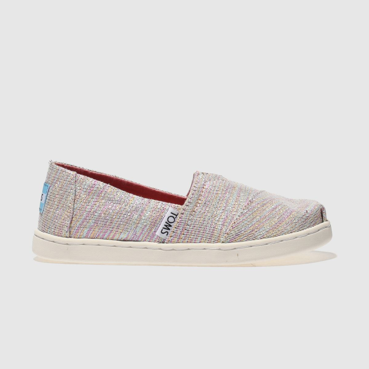 Toms Pink & Blue Classic Boots Junior