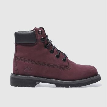 Timberland Purple 6In Premium Girls Youth