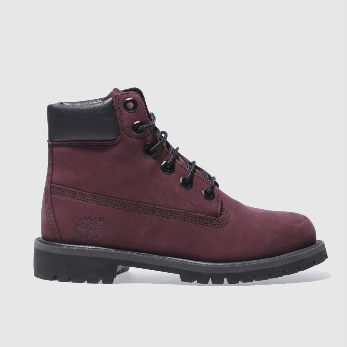 timberland purple 6in premium Girls Youth Boots