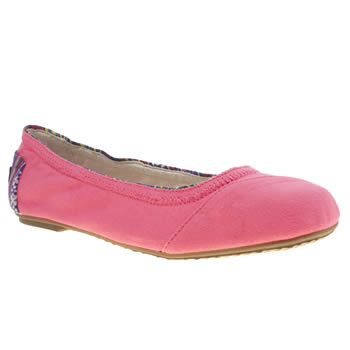 Toms Pink Ballet Flat Girls Youth