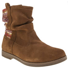 Toms Brown Laurel Girls Youth