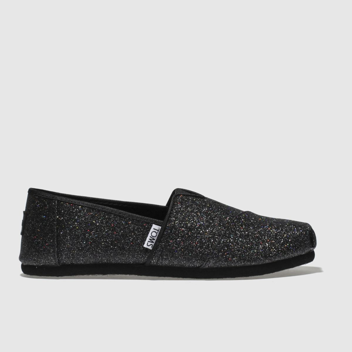 Toms Black Classic Girls Youth Youth
