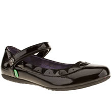 Youth Black Kickers Verda Scallop