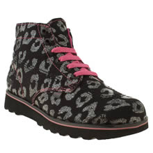 Youth Black & pink Kickers Lite