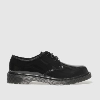 Dr Martens Black Everley Girls Youth