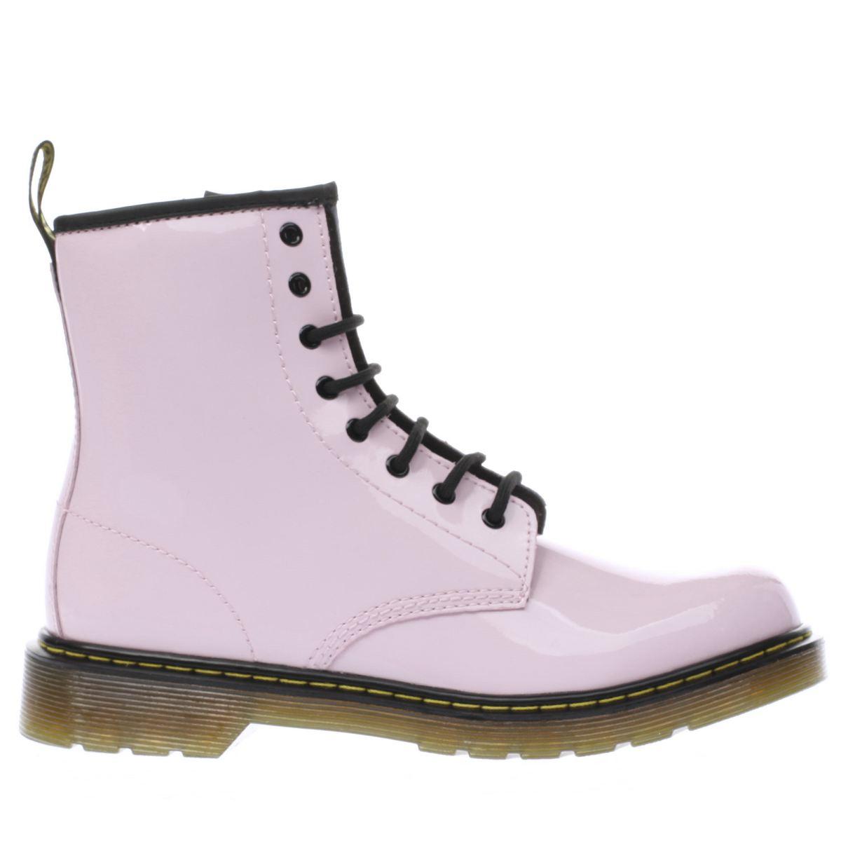dr martens pale pink delaney Girls Youth Boots