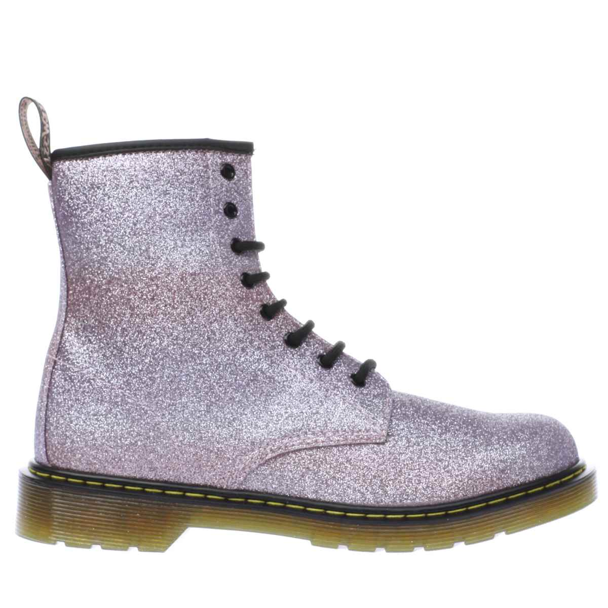 dr martens pink delaney glitter boot Girls Youth Boots