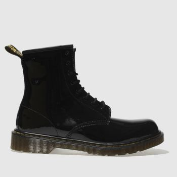 Dr Martens Black Delaney Girls Youth