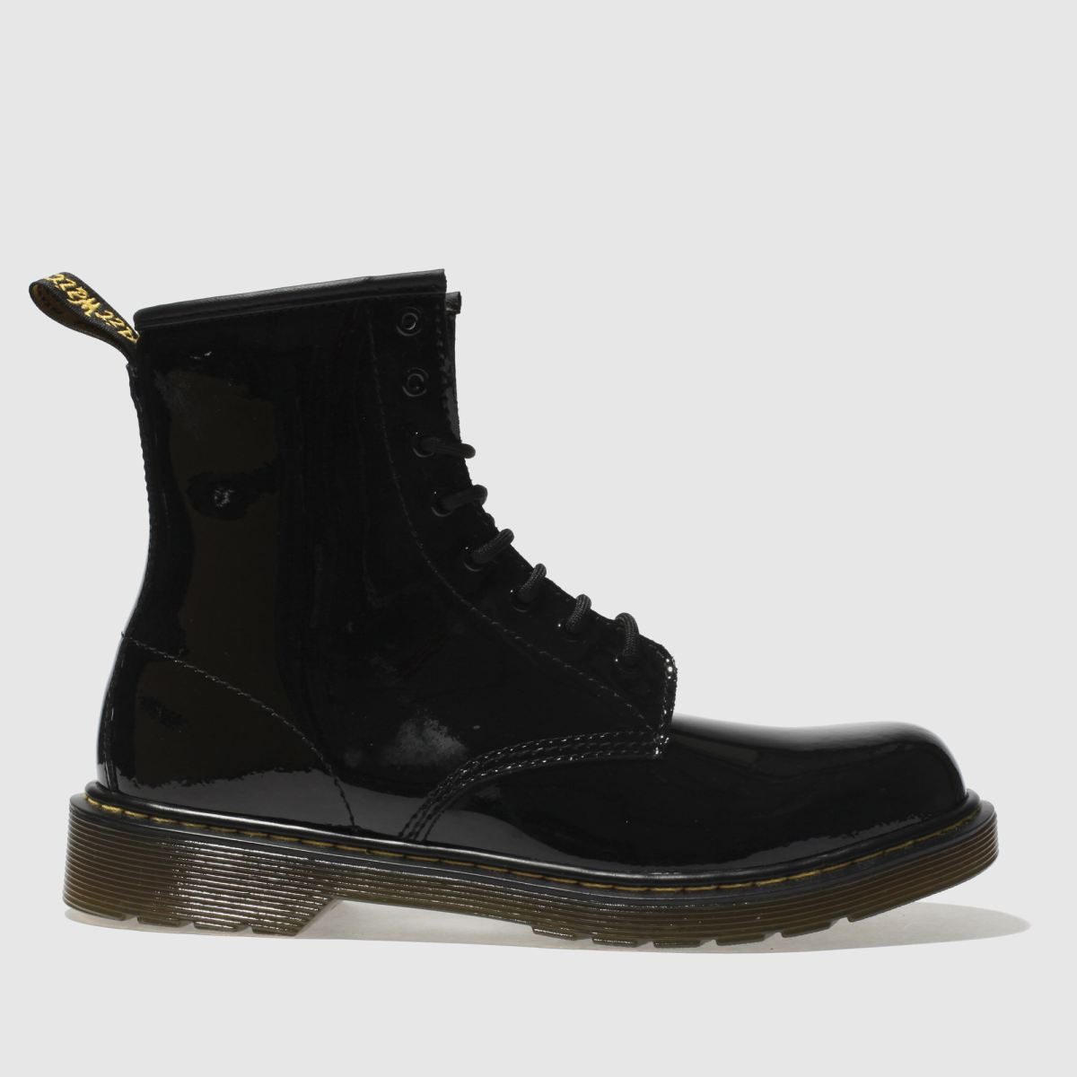 Dr Martens Black 1460 Girls Youth Boots