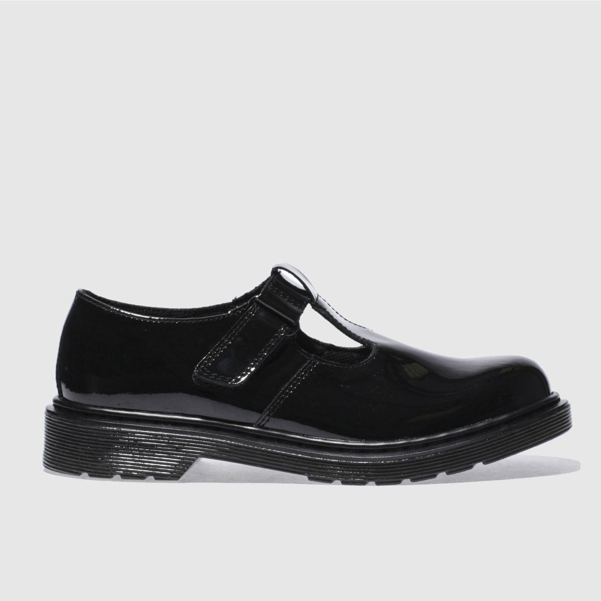 Dr Martens Black Ailis Girls Youth Shoes