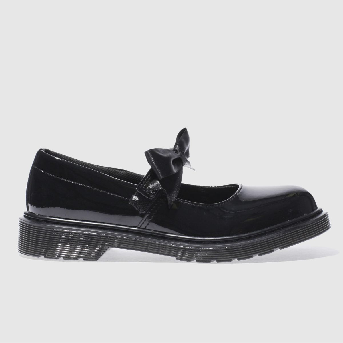 Dr Martens Black Maccy Ii Girls Youth Shoes
