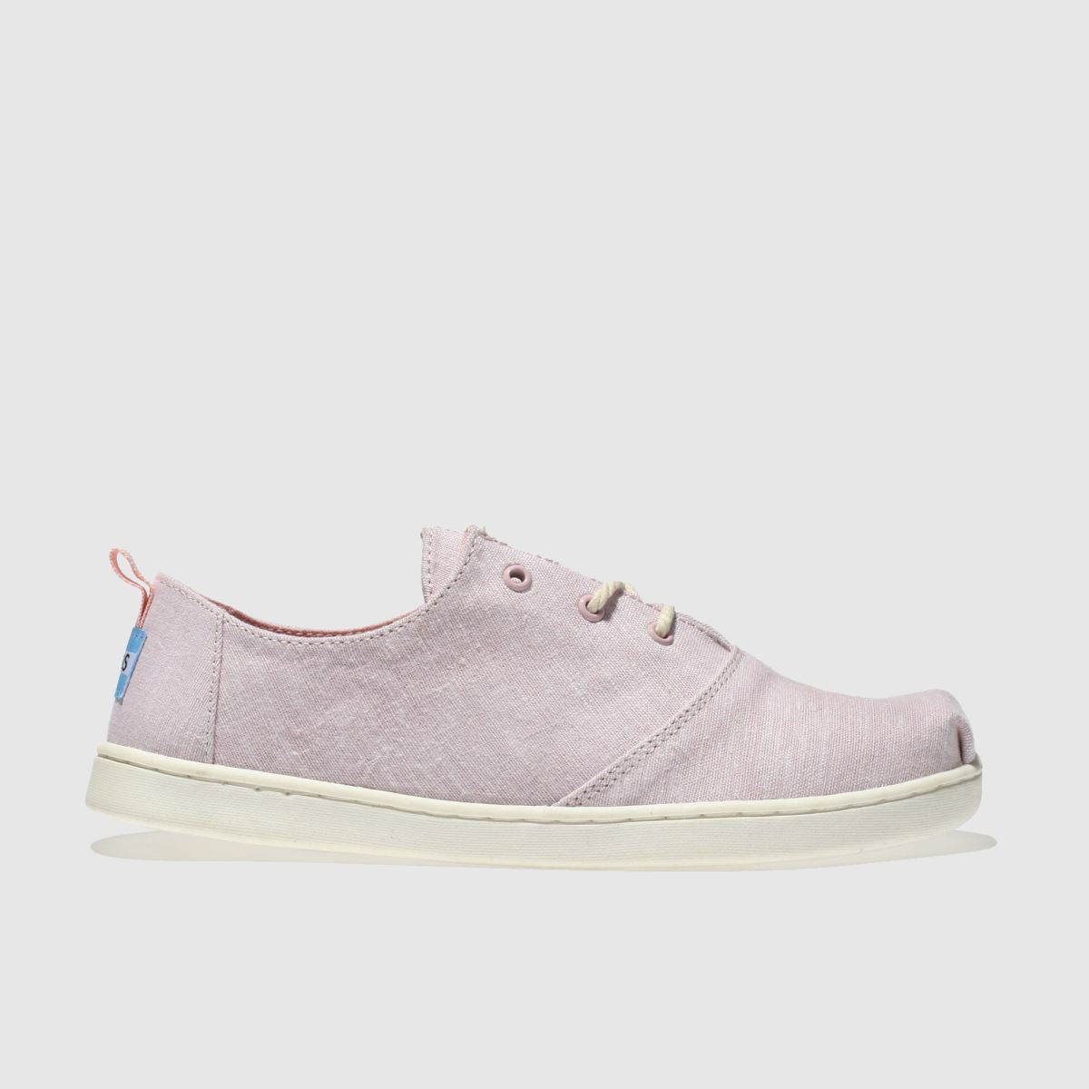 Toms Pale Pink Lumin Girls Youth Youth
