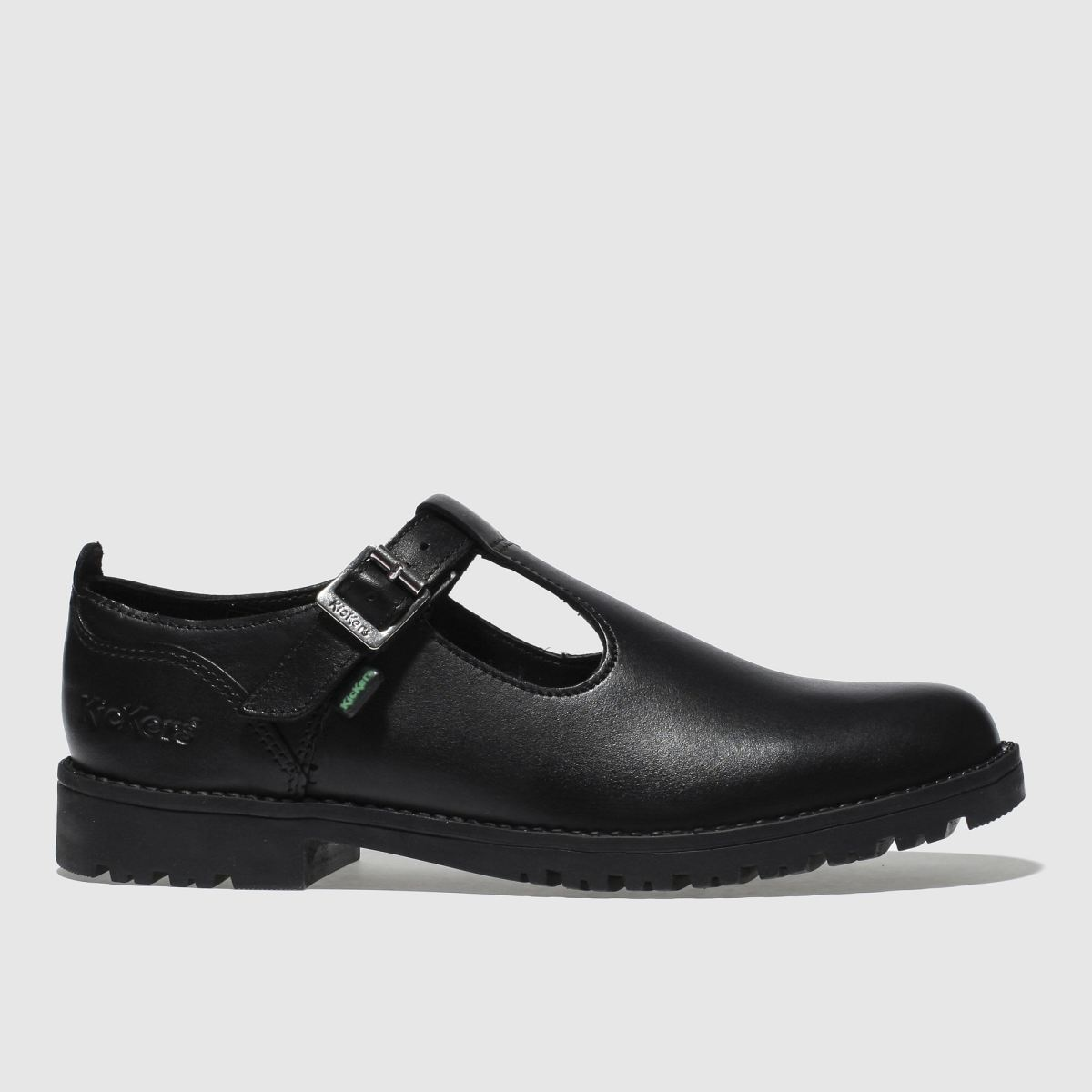Kickers Black Lachly T Girls Youth Shoes