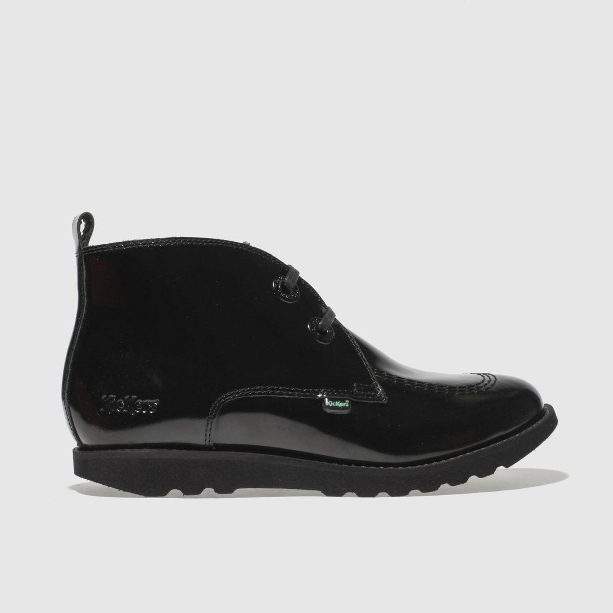 Kickers Black C Lite Desert Girls Youth Boots