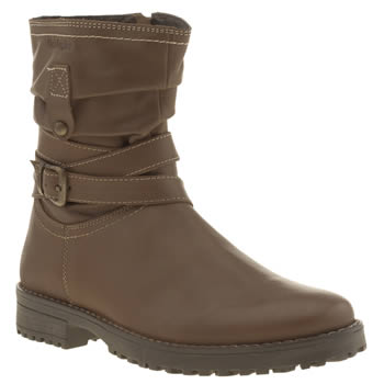 Hush Puppies Brown Luceilie Girls Youth