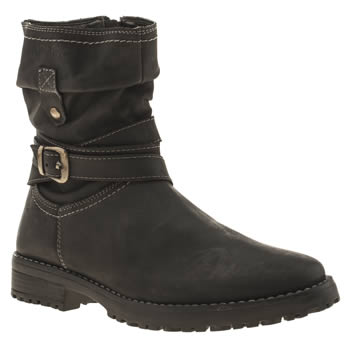 Hush Puppies Black Luceilie Girls Youth