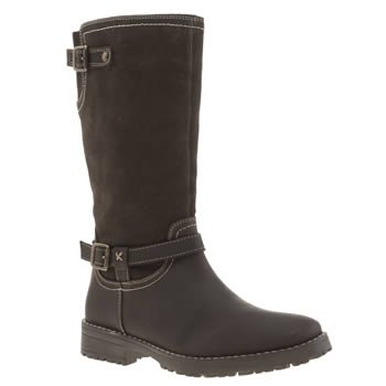 Hush Puppies Dark Brown Custom Girls Youth