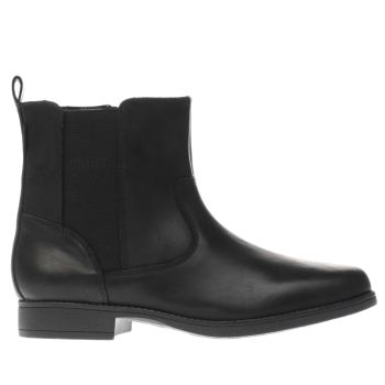 Clarks Black SAMI SO Girls Youth