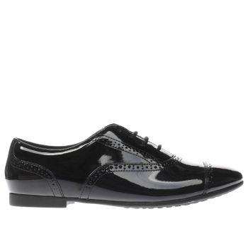 Clarks Black Selsey Cool Girls Youth
