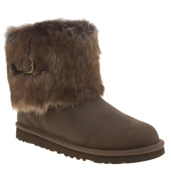Girls Ugg Australia Dark Brown Ellee Girls Youth