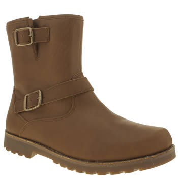 Girls Ugg Australia Dark Brown Harwell Girls Youth