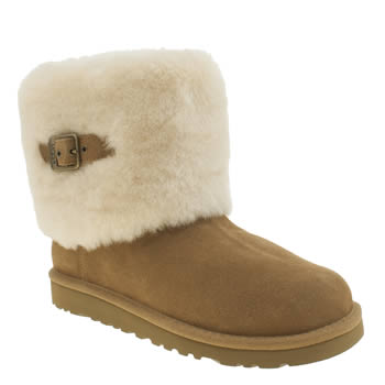 Ugg Australia Tan Ellee Girls Youth