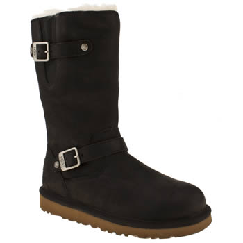 Girls Ugg Australia Black Kensington Girls Youth
