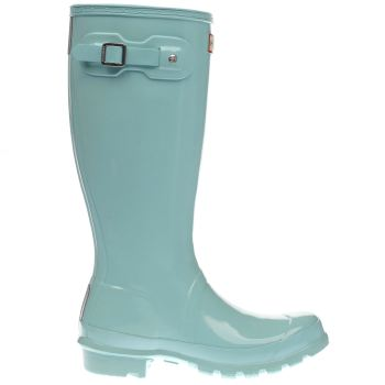 Hunter Pale Blue Original Kids Gloss Girls Youth