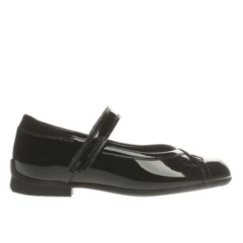 Clarks Black Dolly Babe Girls Youth