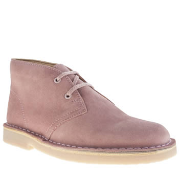 Clarks Originals Pale Pink Desert Boot Girls Youth