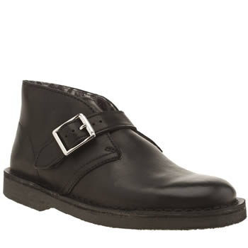 Clarks Originals Black Desert Boot Girls Youth