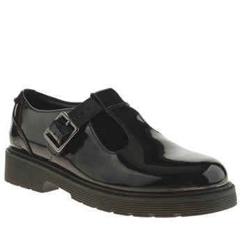 Clarks Black Purley Go Girls Youth