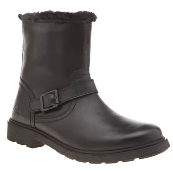 Clarks Black Ines Remi Girls Youth