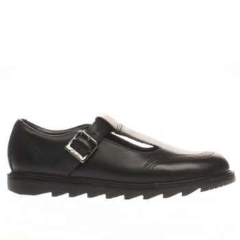 Clarks Black Penny So Girls Youth