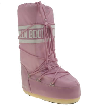 Moon Boot Pink Youth Girls Youth
