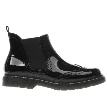 LELLI KELLY  BLACK NOELLE GIRLS YOUTH BOOTS