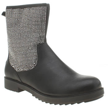 Lelli Kelly Black & Silver Patricia Girls Youth