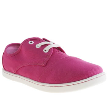 Girls Toms Pink Paseo Girls Youth