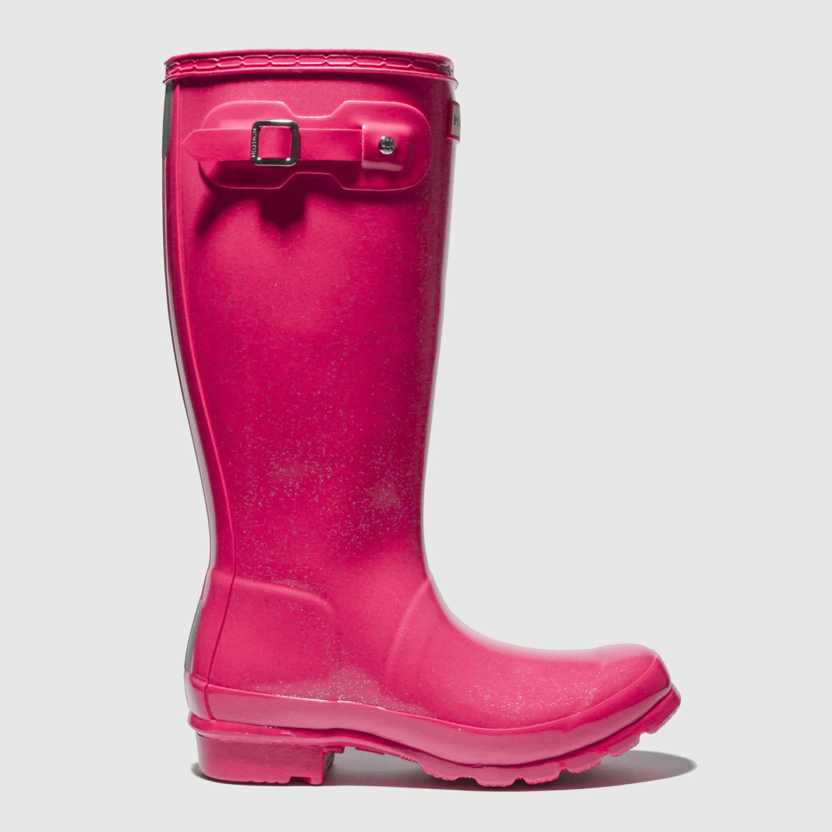 hunter pink original gloss Girls Youth Boots